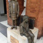 Many city children were evacuated during World War II.  Read the book 'A Secret Step' to find our what happened to Billy and his friends of East End London