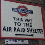 East End of London 1941 - The Blitz, air raid shelters, destruction, fire storms and daring rescues are part of the story in 'A Secret Step' by Ian Parson