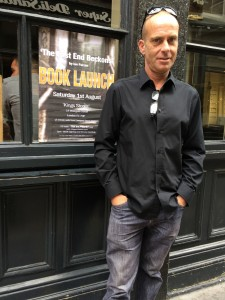 Ian Parson at the book launch, East London, 1st August, 2015