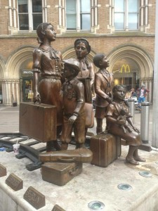 For the first 12 months of World War 2, thousands of evacuees came through Liverpool Street Station.