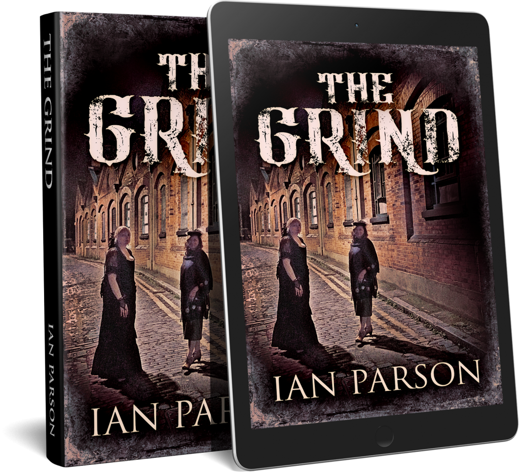 'The Grind' has received rave reviews within the 'crime thriller' community. There is now an audiobook version to compliment the paperback and kindle copies.