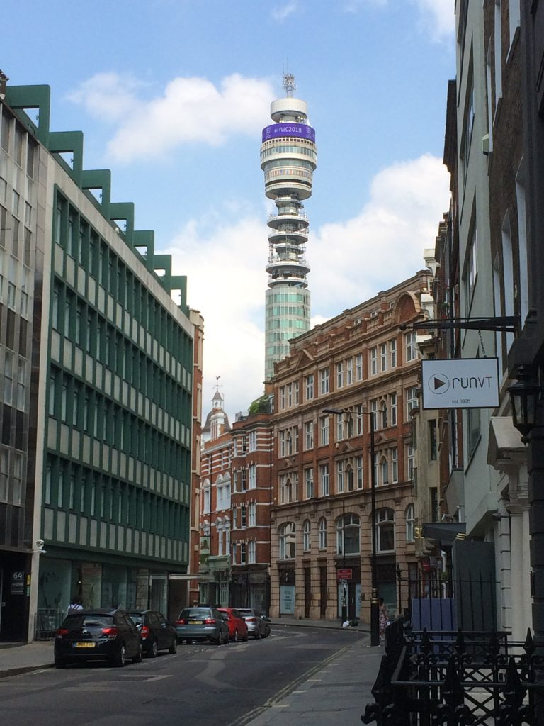 Cleveland Hall was a meeting place where people got organised. Karl Marx is among those who delivered speeches there. It was bulldozed and now the BT Tower stands on a site that used to be where people organised themselves